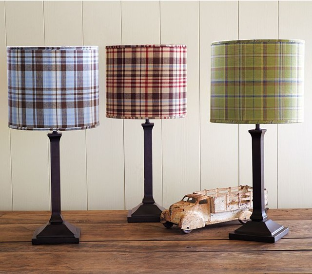 Madras Shade & Mason Touch Lamp Base traditional-table-lamps