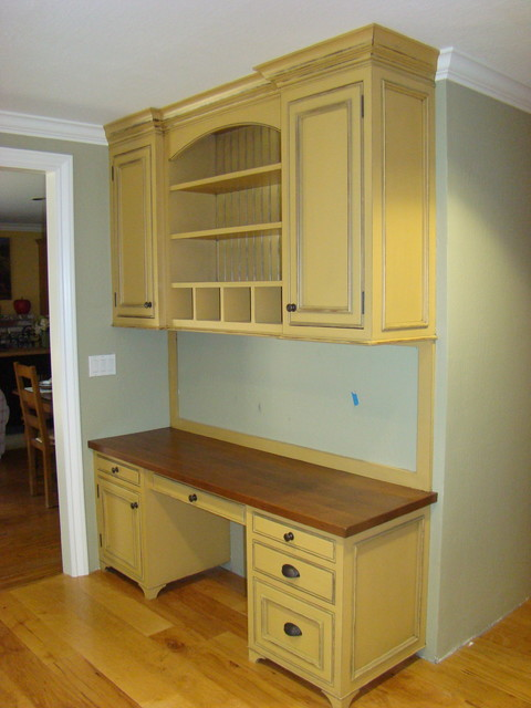 Painted Kitchen Remodel farmhouse-home-office