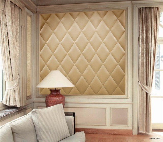 Faux Leather Wall Panel - Modern - new york - by My Luxury Home LLC