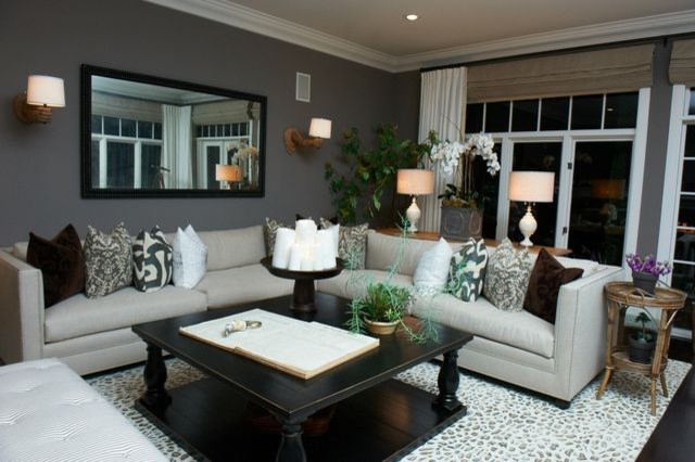 Cool California Living Room eclectic-living-room