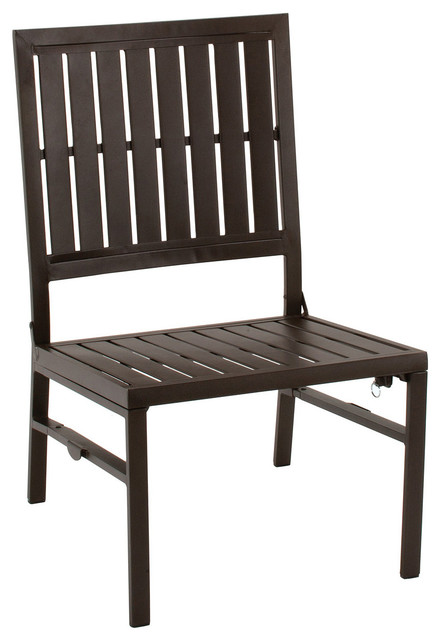 Cosco SMARTFOLD Outdoor Folding Lounge Chair contemporary-outdoor-chaise-lounges