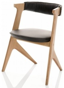 Tom Dixon | Slab Dining Chair Seat Pad modern-dining-chairs