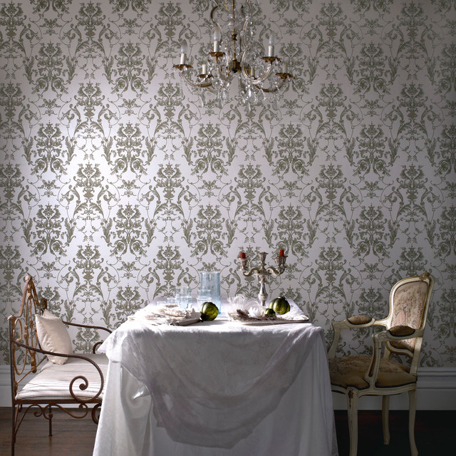 bewitched wallpaper cream shimmer beige wallpaper new