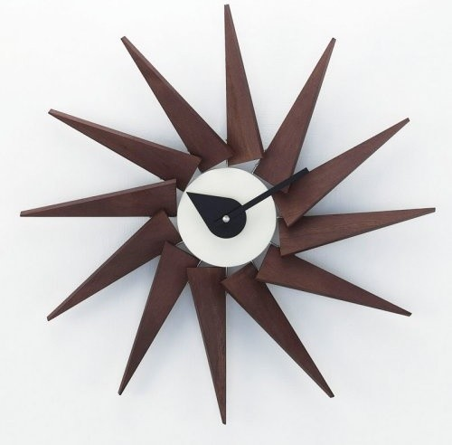 Kirch george nelson pinewood 20 in wall clock modern for Nelson wall clock