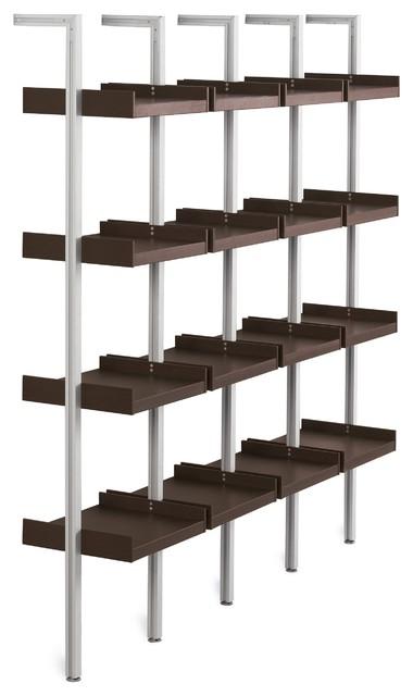 Treku Modular Shelving - Modern - Display And Wall Shelves