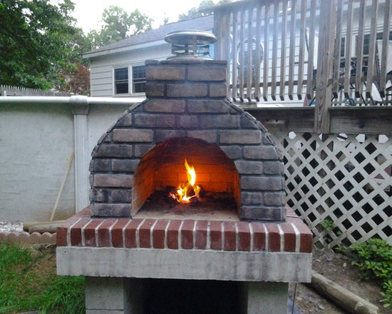 The Large Family Outdoor Wood Fired Pizza Oven in New York -
