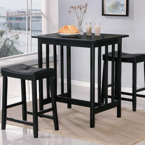 Scottsdale 3 Piece Dinette Set - Modern - Dining Tables - by Wayfair