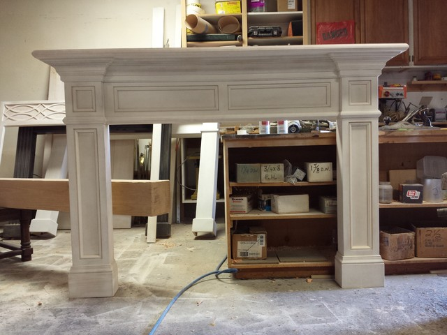 Traditional Fireplace Mantels traditional-family-room