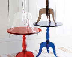 Acrylic Side Table - Horchow  side tables and accent tables