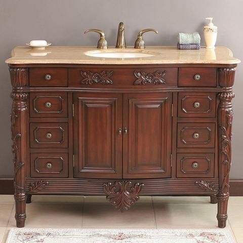 VIRTU USA VANITIES traditional-bathroom-vanities-and-sink-consoles