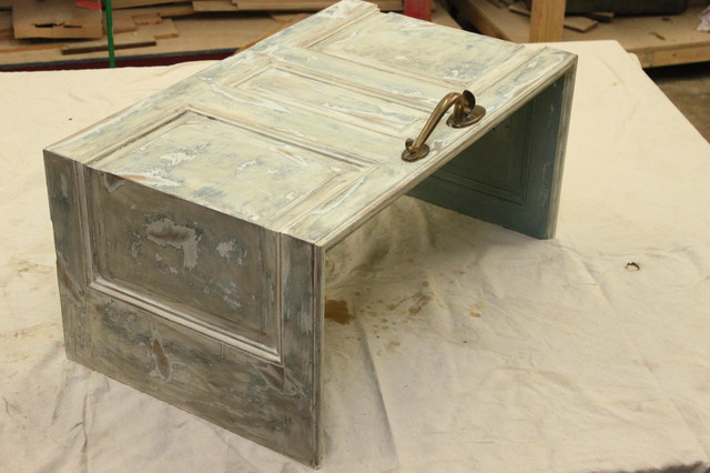 Antique Door Coffee Table $475 - Coffee Tables - milwaukee - by Cypress Creations LLC