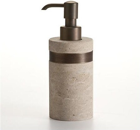 Rialto Bronze Lotion And Soap Dispenser Traditional Bathroom Accessories By Frontgate