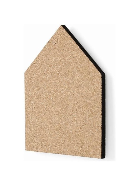 Ferm Living Small Pin Board - We all need them – a place where we can put up note, pictures, birthday invites or little knickknacks that remind you of a fun holiday. What better way to do that than with the cork Pin Boards by Ferm Living. They come  in two sizes – each with its own signature colored edge.