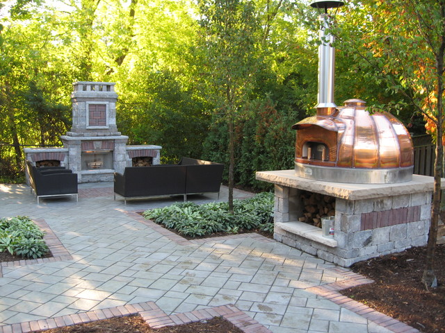 Pizza Oven - Outdoor Pizza Ovens - other metro - by Genus Loci Ecological Landscapes Inc.