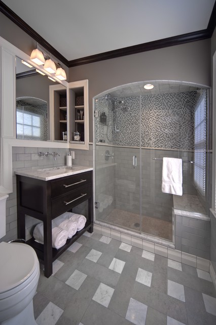 Master Bath 10026 - contemporary - bathroom - columbus - by J.S. ...