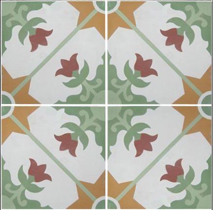 REEDITION of DESIGN OLD CEMENT FLOOR contemporary-floor-tiles