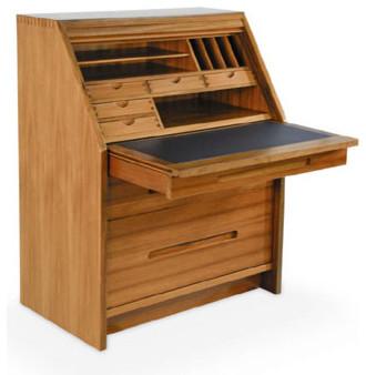 marsden secretary roll top desk. Black Bedroom Furniture Sets. Home Design Ideas