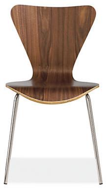 Jake Chair, Walnut modern-dining-chairs
