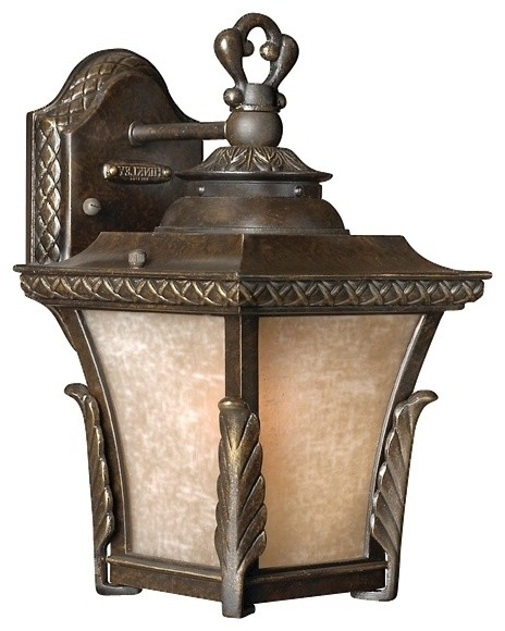 "Traditional Brynmar Collection 12"" High Outdoor Wall Light traditional-outdoor-lighting"