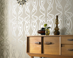 Diva, Beige contemporary wallpaper
