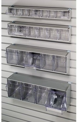 HandiSolutions HSB06TOB 6 Tilt Bin Storage Unit modern-baskets