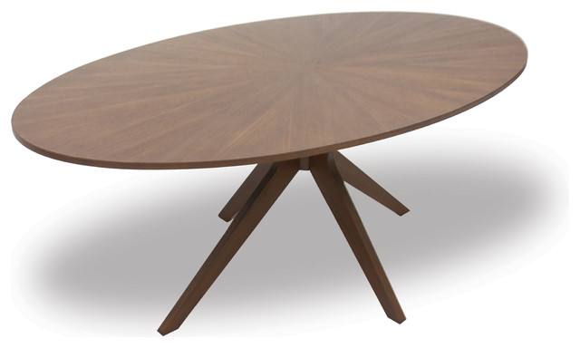 Conan Oval Dining Table Contemporary Dining Tables