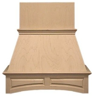 Air Pro 36W in. Arched Island Range Hood modern-range-hoods-and-vents