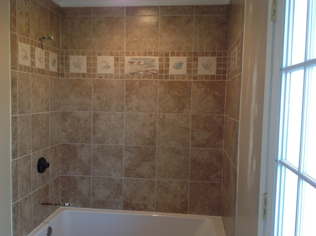Bathroom Tile Traditional Tile Raleigh By Mottles
