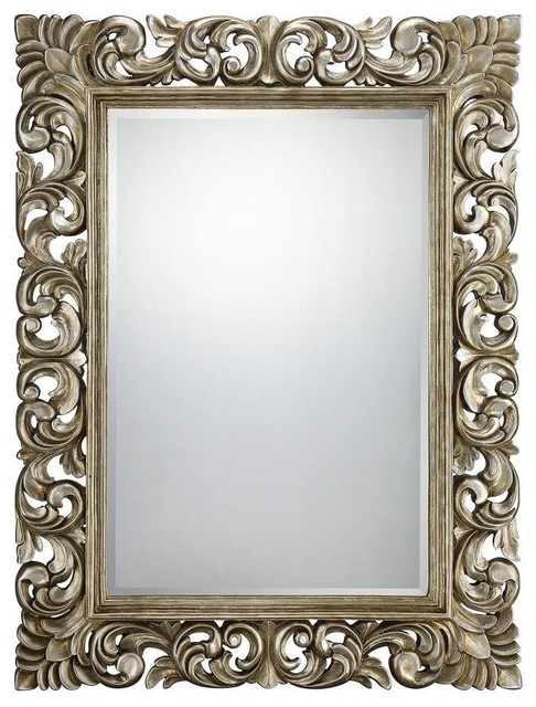 """Savoy House-4-SF05141-209-Laurie - 39"""" Beveled Mirror traditional-home-decor"""