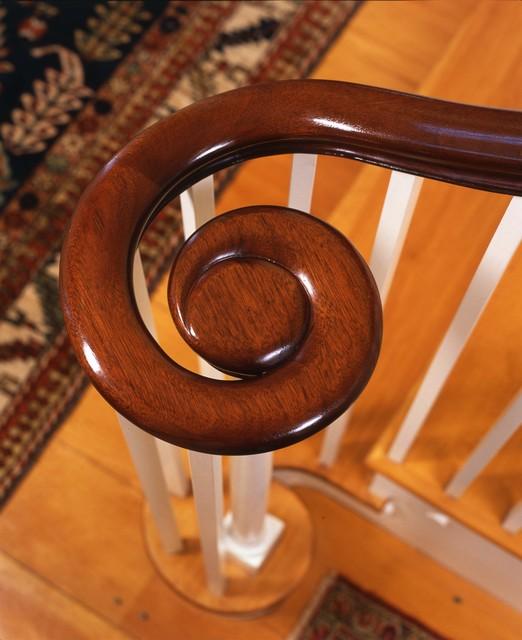 Newburyport Federal - Ballistrade traditional-staircase