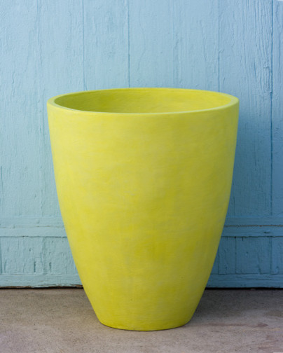 Cone Planter contemporary outdoor planters