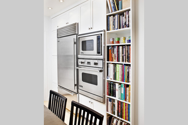 Wall oven - NYC Upper West Side pre-war coop luxury renovation traditional-ovens