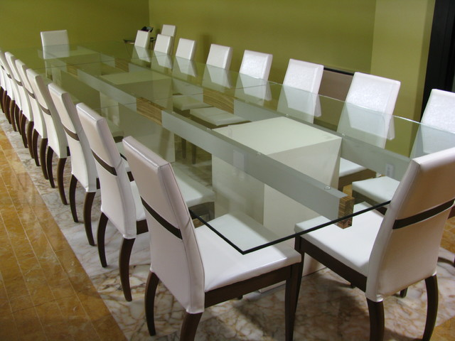 Custom made Conference Tables desks-and-hutches