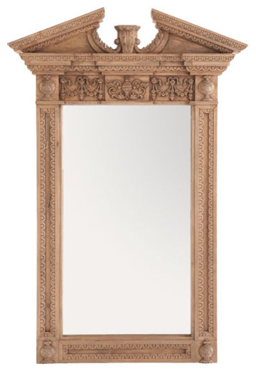 Stately Wooden Federal Mirror traditional mirrors