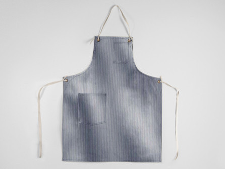 Standard Apron With Cloth Straps traditional-aprons