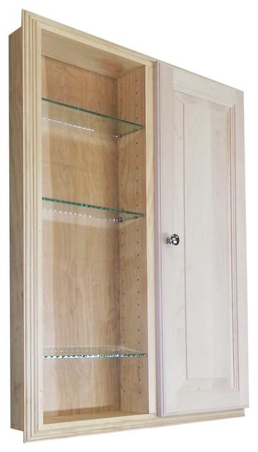 36-inch Recessed Dual Mount Double Door Baldwin Medicine Storage Cabinet - Contemporary ...
