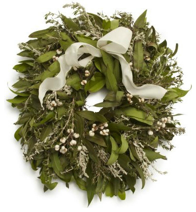 Rosemary Bay Wreath traditional-wreaths-and-garlands