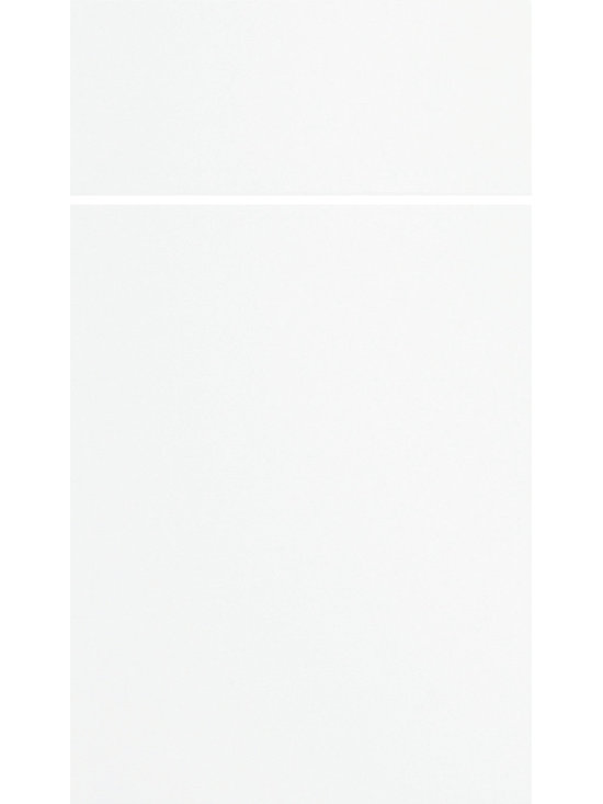 """Dura Supreme Cabinetry - Dura Supreme Cabinetry Chroma Cabinet Door Style - Dura Supreme Cabinetry's """"Chroma"""" cabinet door style shown in Painted MDF with  in Dura Supreme's """"White"""" paint finish."""