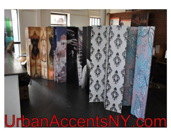 Functional Art/Photography Printed on a 6ft Folding Screen - 6ft tall 3,4 and 6 panel double sided folding screen room dividers with various themes from musical, Italian, Asian, vintage and fine art, abstract art, nautical, jungle and safari, city skylines, world travel, and many more themes.
