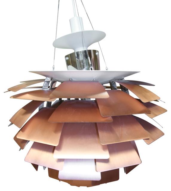 Consigned Poul Henningsen Artichoke Chandelier modern-chandeliers