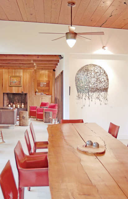 Heavilin Road House eclectic-dining-room