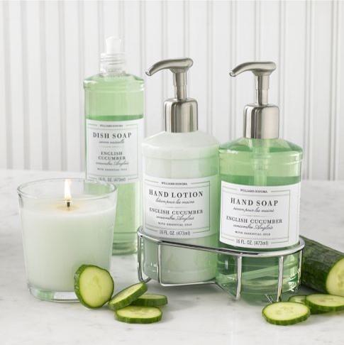 Williams-Sonoma Essential Oils Collection, English Cucumber contemporary-bathroom-accessories