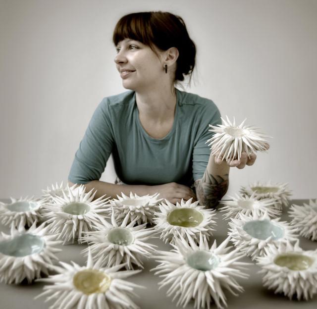 Heather Knight of Element Clay Studio