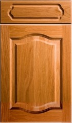 Solid Wood Raised Double Cathedral Colour Selector - Replacement Kitchen Bedroom