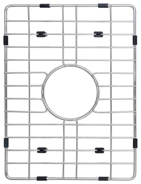 Kraus Stainless Steel Bottom Grid - Modern - Kitchen Sink Accessories ...