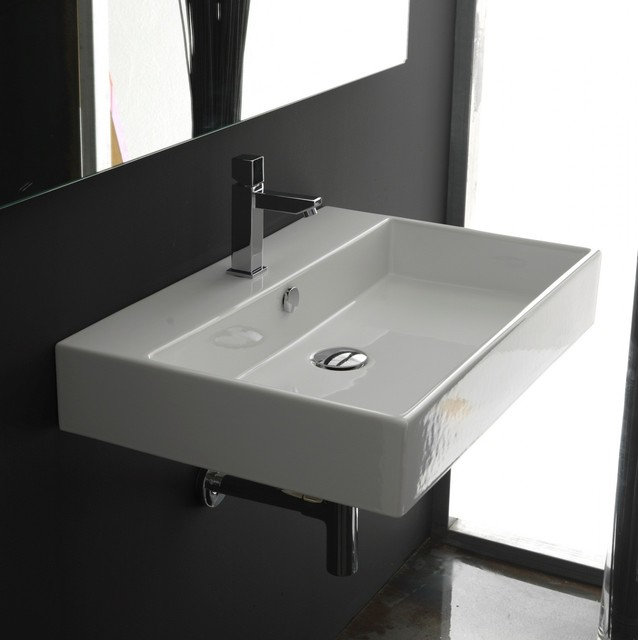 WS Bath Collections Unlimited 70 Wall Mount Sink 27.6