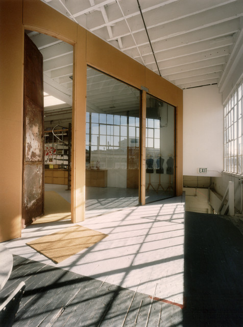 450 architects - 423 Tehama Live-Work industrial-entry
