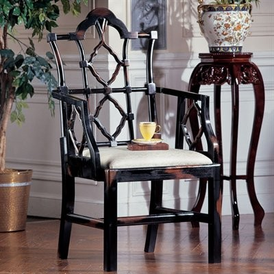 Chinese Chippendale asian-armchairs-and-accent-chairs