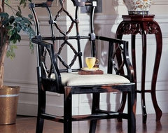 Chinese Chippendale asian-living-room-chairs