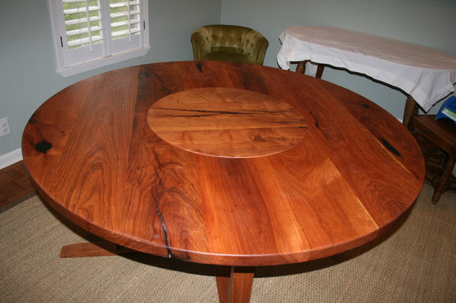 Mesquite Table Traditional Dining Tables Austin By WR Woodworking